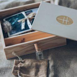 Cajas para fotografías y pendrive Photobox